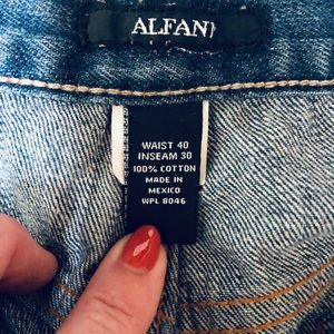 Alfani Jeans - Alfani Men's Jeans 40 X 30 Boot Cut